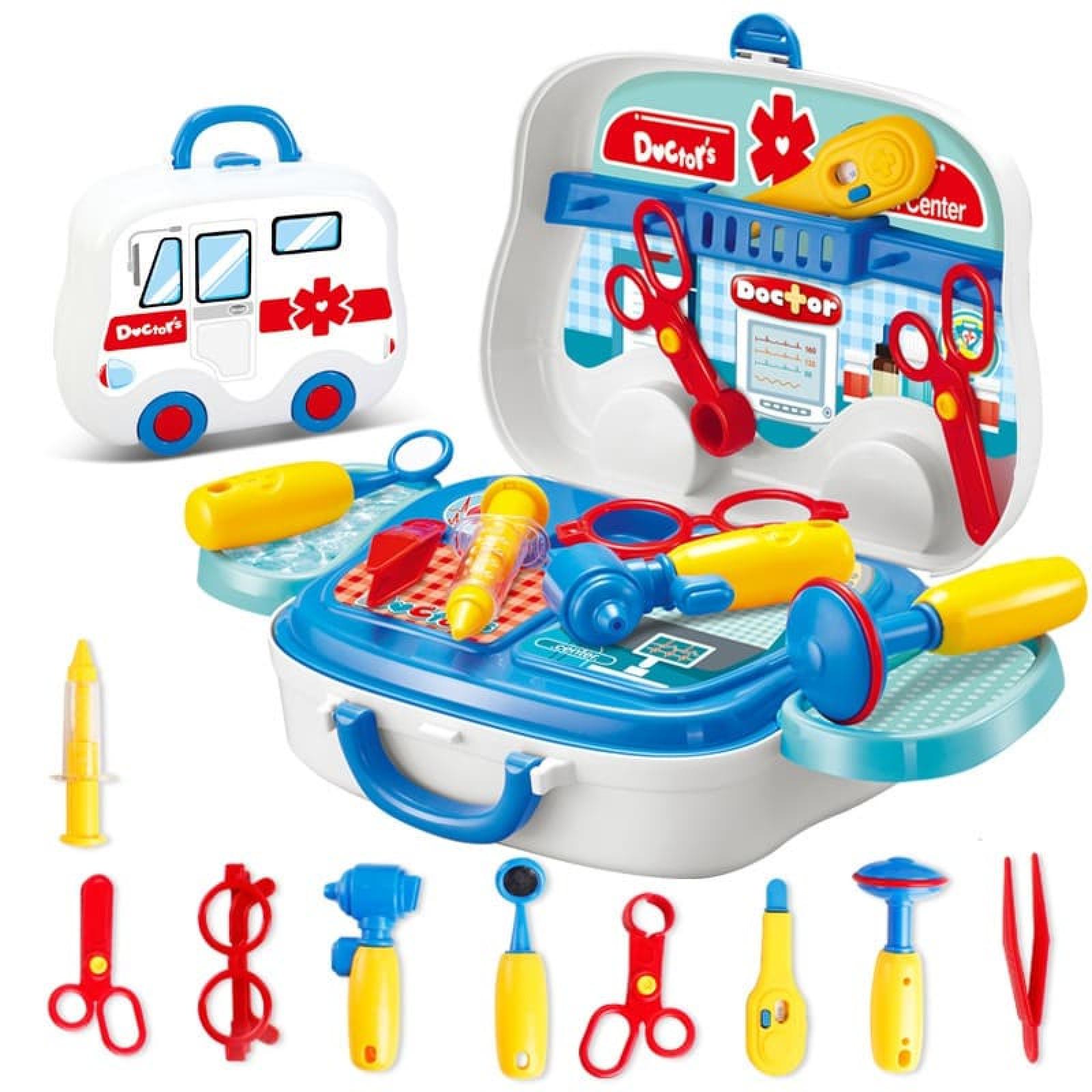 Bộ đồ chơi bác sĩ cấp cứu cho bé 010