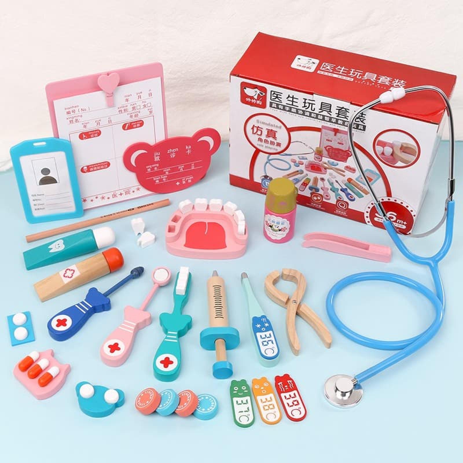 Bộ đồ chơi bác sĩ cho bé cao cấp 002