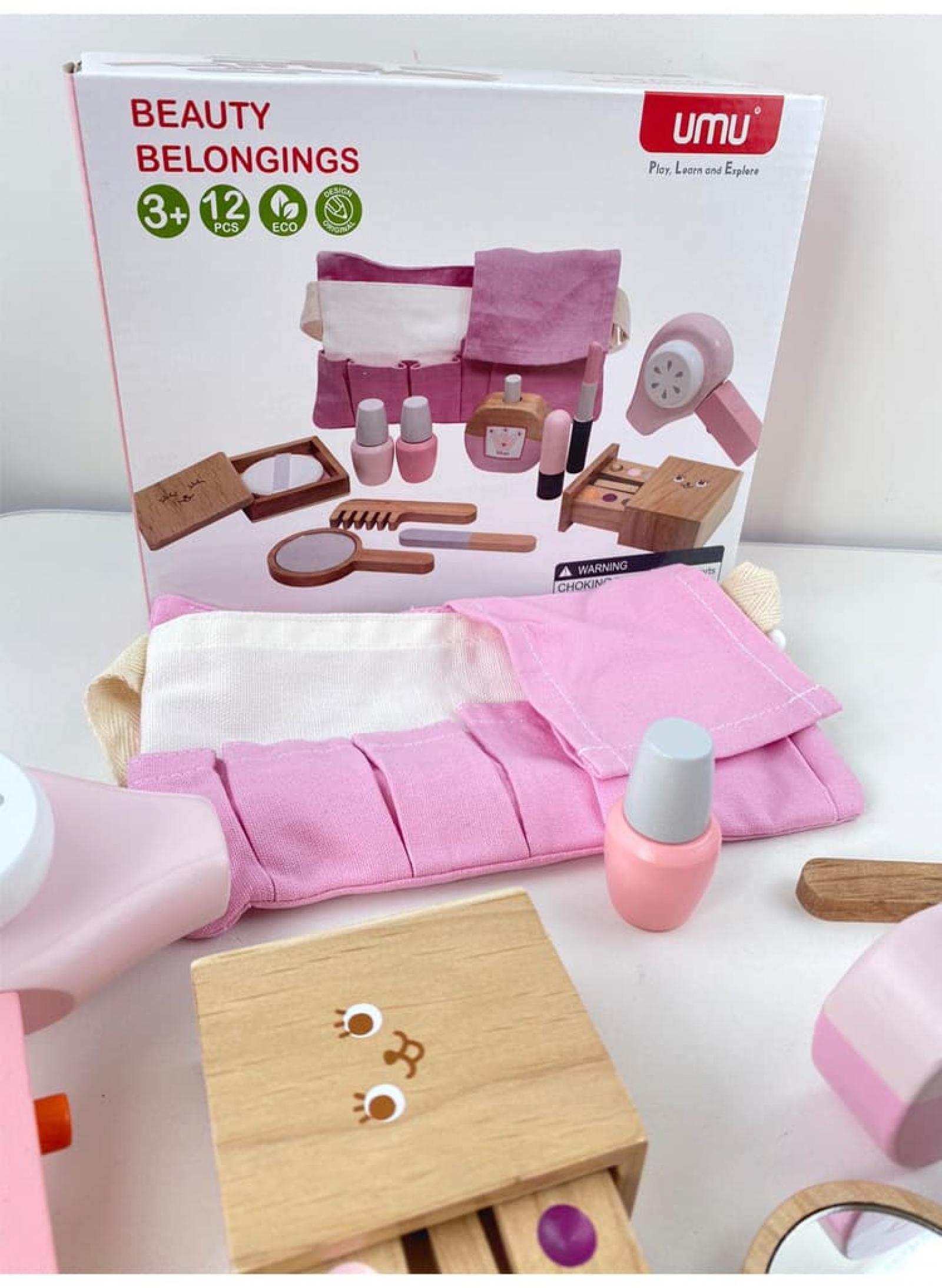 Bộ đồ chơi nhập vai bác sĩ cho bé bằng gỗ cao cấp 009