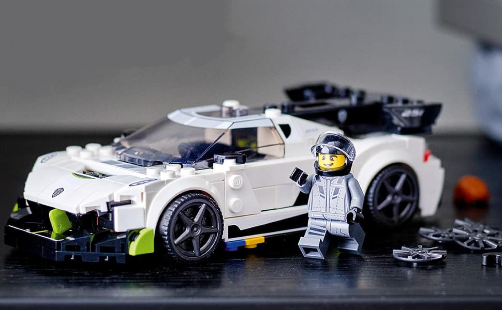 Bộ lắp ráp cho bé siêu xe đua Koenigsegg 029