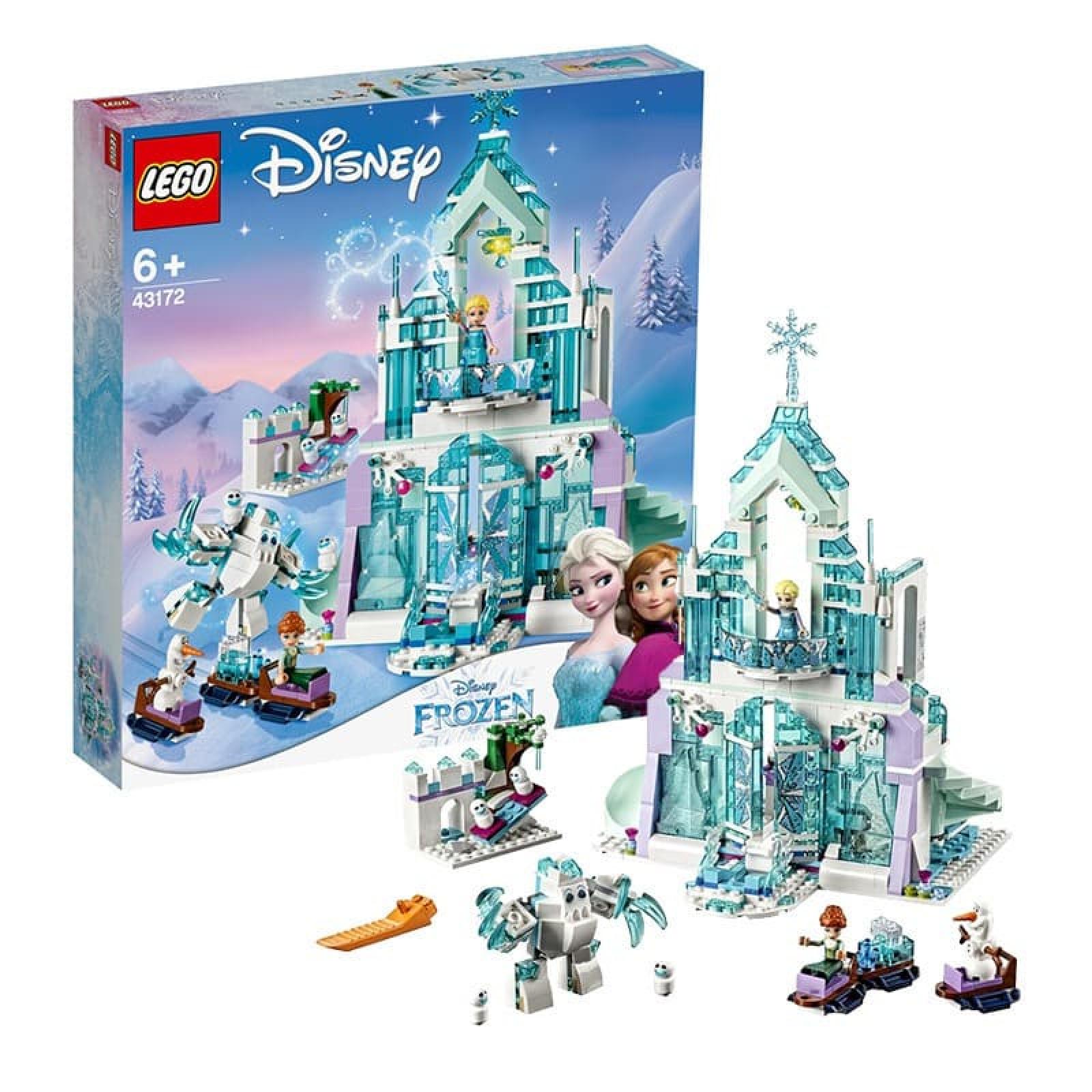 Bộ lắp ráp Lego cho bé Công chúa băng giá Elsa Disney 025