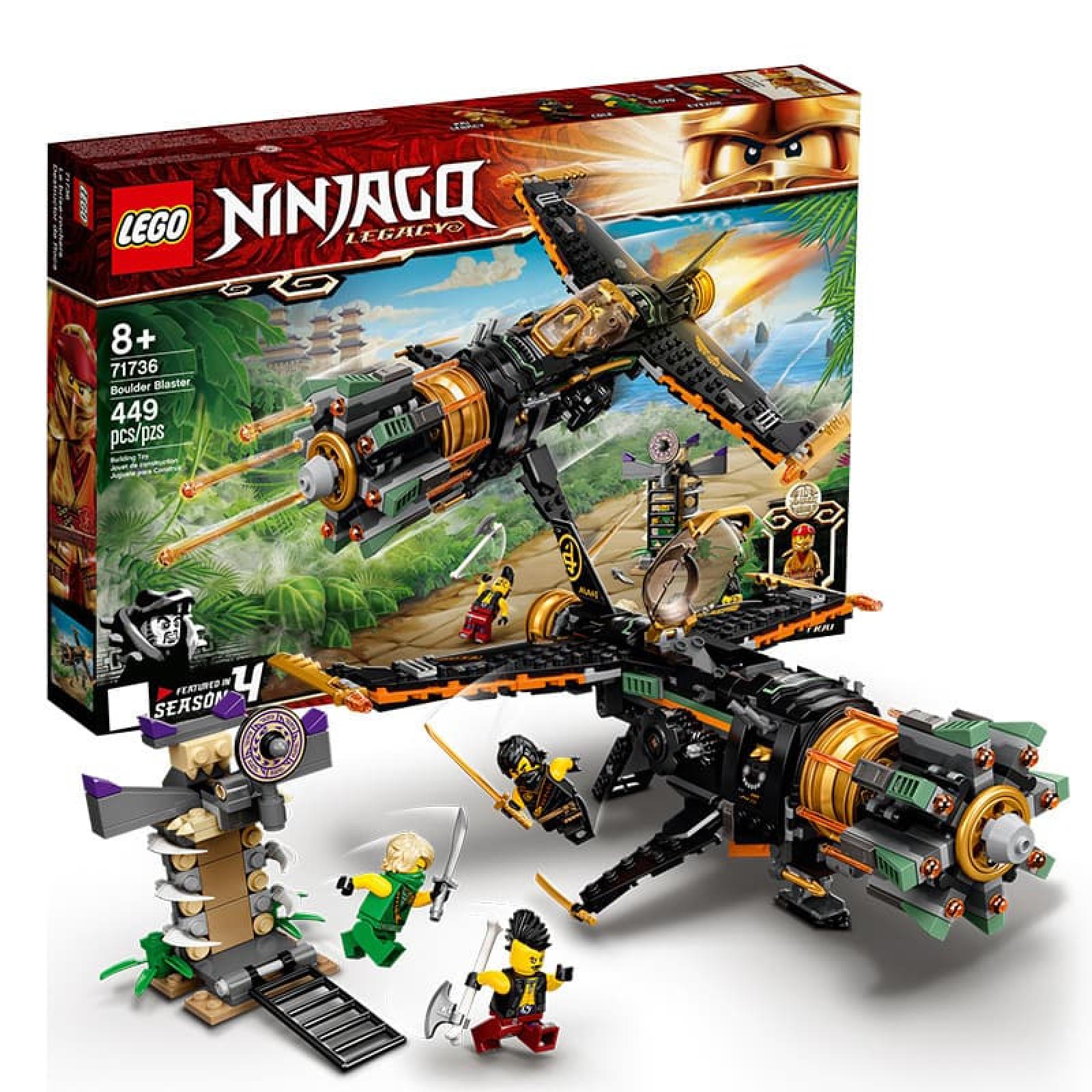 Bộ lắp ráp Lego trẻ em Ninjago Legacy tàu bay 027