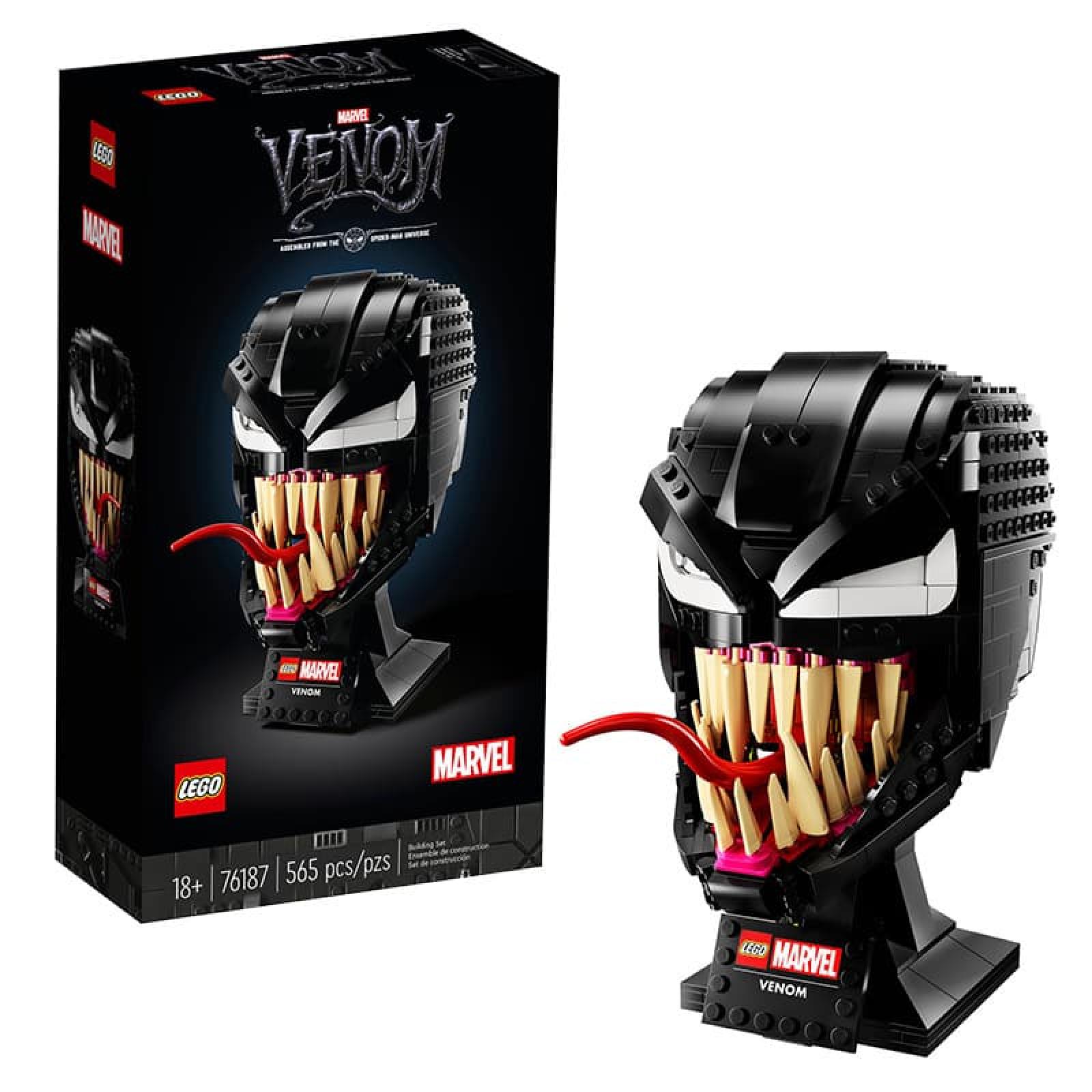Bộ lắp ráp mô hình đầu Venom 036