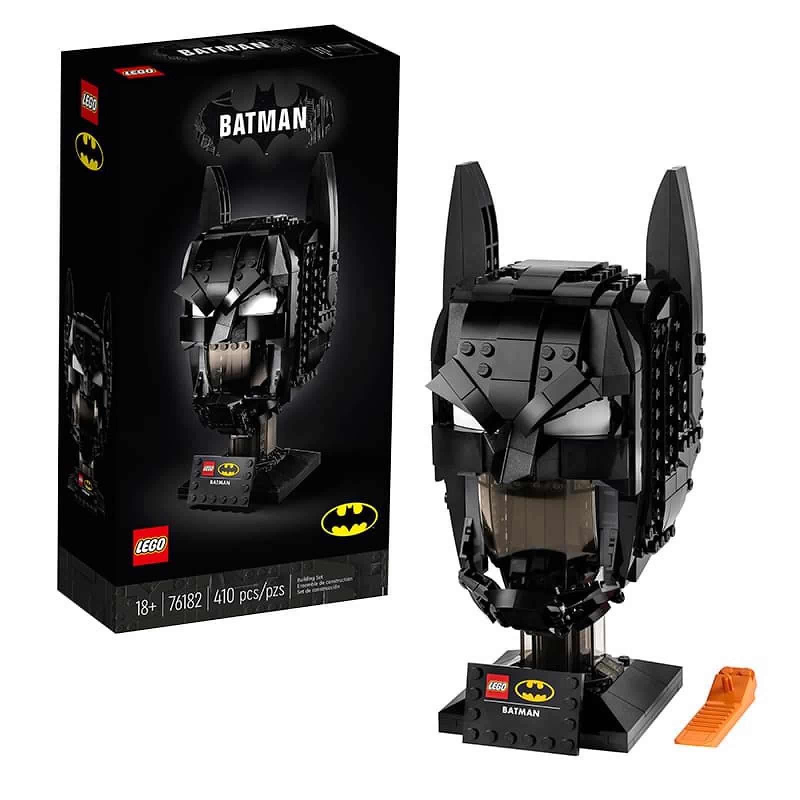 Bộ lắp ráp mô hình mũ đội đầu của Batman 035